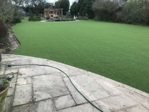 Artificial grass installation Hertfordshire
